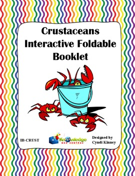 Crustaceans Interactive Foldable Booklet