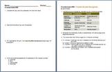 Crustaceans Homework Assignment