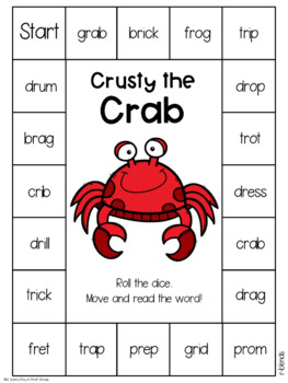 Crusty the Crab {R-Blends!}