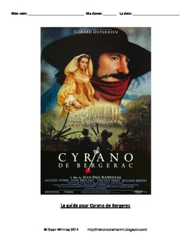 Cryano de Bergerac French Film and Book Guide (Lecture Facile)