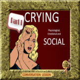 Crying – Physiological, Emotional, Or social? ESL adult conversation power-point