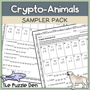 Crypto-Animals Sampler Pack