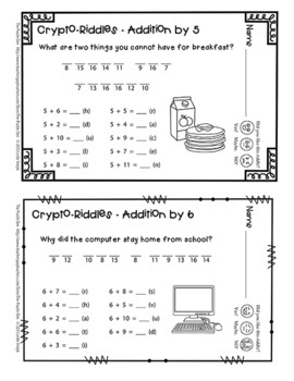Crypto-Riddles - Addition & Subtraction
