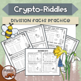 Crypto-Riddles - Division - Math Facts Practice With Fun Riddles