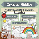 Crypto-Riddles - Multiplication & Division Bundle