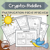 Crypto-Riddles - Multiplication - Math Facts Practice With