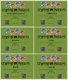 Cryptogram Puzzles 6-Pack (48 Puzzles) - Best Deal!!