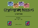 Cryptogram Puzzles:  Leadership