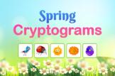 Cryptogram Spring Fun