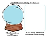 Crystal Ball Thinking CBT Worksheet