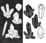 Crystal Clipart, Raw Crystal Clip Art, Crystal Clip Art, C