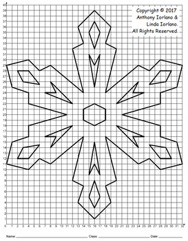 Snowflake Mystery Picture (Crystal Diamonds)