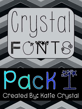 Crystal Fonts! Pack 1