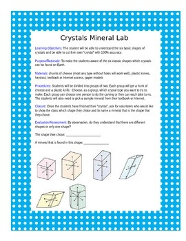 Crystal Mineral Lab