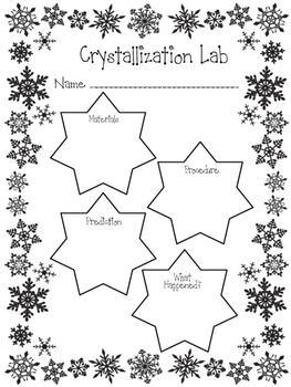 Crystallized Ornament Lab