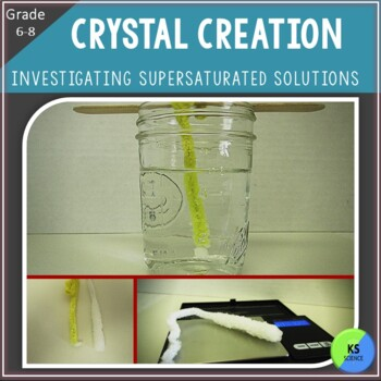 Crystal Lab:  Investigate the Type of Water on Crystal Growth