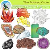 Rocks / Crystals / Minerals / Stones Clip Art - Geology -