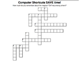 Ctrl Key Shortcuts Crossword