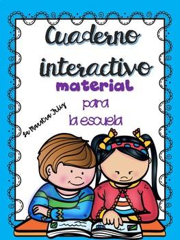 Cuaderno Interactivo La Escuela/ Interactive Notebook : School