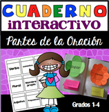 Cuaderno Interactivo Partes de la Oración / Spanish Interactive Notebook