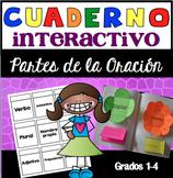 Cuaderno Interactivo Partes de la Oración / Spanish Interactive Notebook