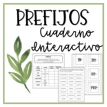 Interactive Notebook: Prefixes (Spanish)