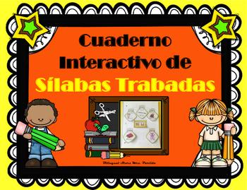 Cuaderno Interactivo de Sílabas Trabadas Bilingual Stars Mrs. Partida