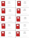 Cuaderno de Lectura - Reading notebook (SPANISH) label