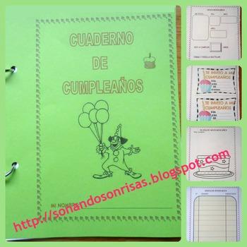 Cuaderno de cumpleaños
