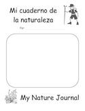 Cuaderno de la naturaleza / Nature Journal in Spanish