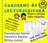 Cuaderno de lectoescritura - Foundational Spanish Interactive Reading & Writing