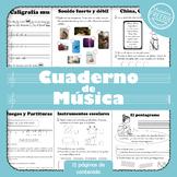 Cuaderno de música - Libro 1 (Muestra)
