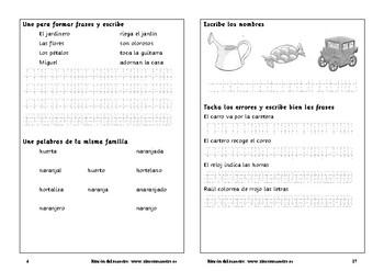 Cuaderno de ortografía 1