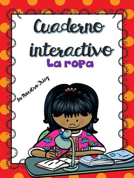 Cuaderno interactivo LA ROPA/ Interactive Notebook Clothing