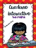 Cuaderno interactivo LA ROPA/ Interactive Notebook Clothing