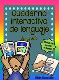 Cuaderno interactivo de lenguaje de 1er grado -Alineado a