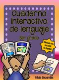 Cuaderno interactivo de lenguaje de 3er grado -Alineado a