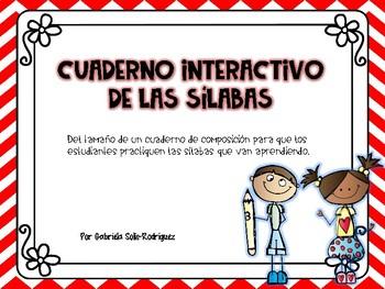 Cuaderno interactivo de sílabas