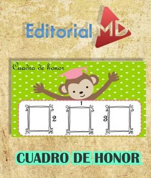 Cuadro de Honor para Niños Para Imprimir