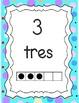 Cuadro de diez / Ten Frame in Spanish