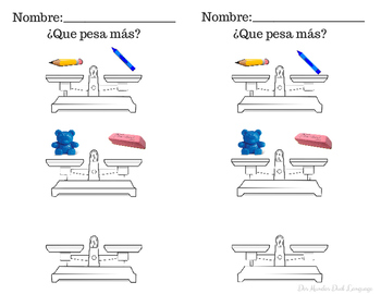 Cual Pesa Mas? (Which weighs More?)