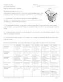 Cuando Era Nino - My Life in a Box Presentation Project