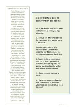 Cuando el amor vence a la muerte en la lírica española: literatura comparada