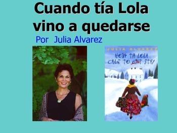 Cuando tía Lola vino a quedarse por Julia Alvarez