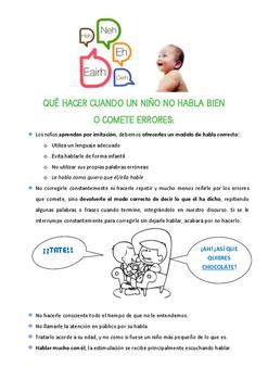 Cuando un niño no habla bien: pautas básicas
