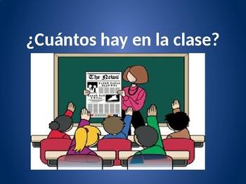 Cuantos Hay en la Clase? (Counting class objects)