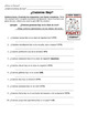 Cuantos hay?  Spanish Worksheet-- How many are there?