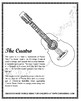 Cuatro (Musical Instrument) Poster and Coloring Page