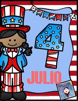 Cuatro de julio, día de la independencia de EEUU