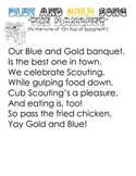 Cub Scout - Blue and Gold Banquet Song - 'The Banquet'